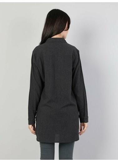 Colin's Colin'S Uzun Kollu Shirt Neck Pamuklu Regular Fit Kadın Gömlek Renkli